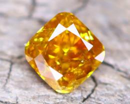 Orange Diamond 0.18Ct Natural Fancy Diamond A2511