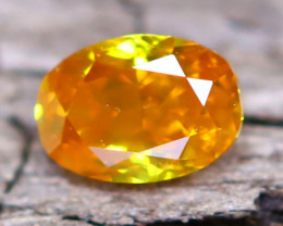 Orange Diamond 0.13Ct Natural Fancy Diamond A2513