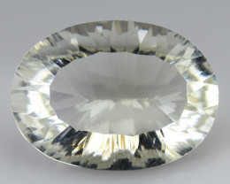 10.73 CT WHITE QUARTS TOP FANCY CUT GEMSTONE Q5