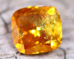 Orange Diamond 0.44Ct Natural Fancy Diamond B2506