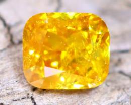Intense Yellow Orange Diamond 0.22Ct Natural Fancy Diamond B2510