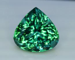 Kunzite, 39.55 Carats Amazing Lush Green Hiddenite Kunzite Gemstone