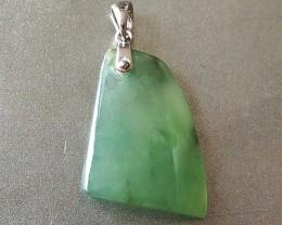 Natural Type A jadeite pendant