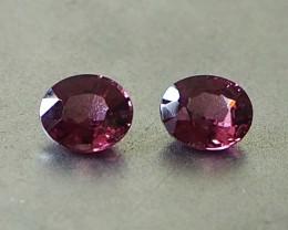 1.44ct natural pink spinels