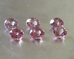 4.62ct natural unheated pink spinels