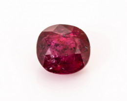 Ruby 0.79 ct Madagascar GPC Lab