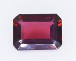 1.74 Crt Natural Rhodolite Garnet Faceted Gemstone.( AB 81)