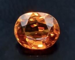 0.69 Crt Natural Spessartite Garnet Faceted Gemstone.( AB 81)