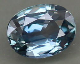 UNHEATED 1.77ct. 100% Natural Earth Mined  Sapphire Tanzania