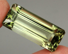 27.07 ct. 100% Natural Earth Mined Unheated Top Nice Green Amethyst Brazil