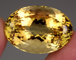79.88 Ct . 100% Natural Earth Mined Top Quality Yellow Golden Citrine Unhea