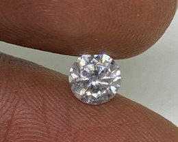 (3) Certified Nat $962 Fiery 0.52cts SI2  White Round Loose Diamond