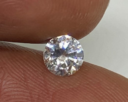 (4) Certified Nat $652 Fiery 0.41cts SI2 White Round Loose Diamond