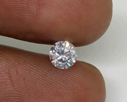 (5) Certified Nat $811 Fiery 0.43cts SI1 White Round Loose Diamond
