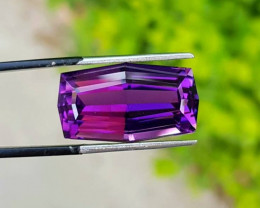 23.85 carats fancy cut Amethyst Loose Gemstone