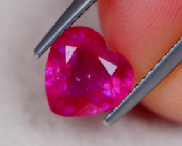 1.80Ct Ruby Heart Cut Lot B2081