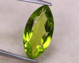 3.66Ct Natural Green Peridot Marquise Cut Lot B2091
