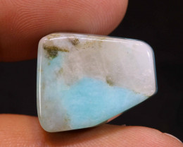 29.75CTS BLUE OPAL NATURAL DRILLED NP-624