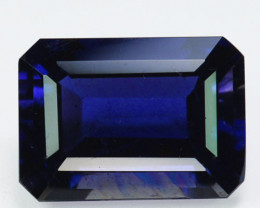6.21Ct Natural FIne Blue Iolite Tanzania Octagon