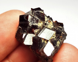 Amazing natural Damage free Garnet cluster have good luster 49Cts-A