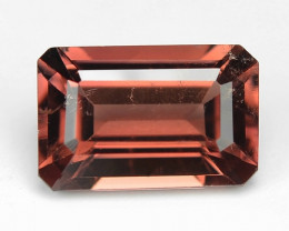 0.91 Cts Un Heated Pink Color Natural Tourmaline Loose Gemstone
