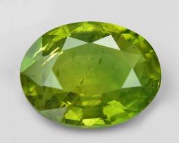 1.09 Cts Amazing Rare Natural Fancy Green Ceylon Sapphire Loose Gemstone