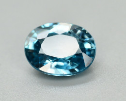 Vibrant Blue ~3.05 Ct Natural Zircon From Cambodia