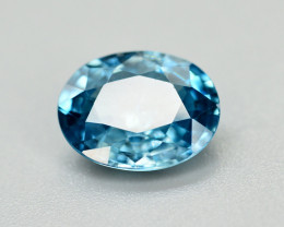 Vibrant Blue ~2.75 Ct Natural Zircon From Cambodia