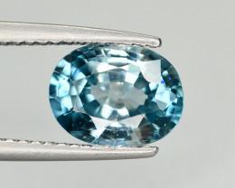 Vibrant Blue ~2.80 Ct Natural Zircon From Cambodia