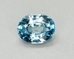 Vibrant Blue ~3.05 Ct Natural Zircon From Cambodia