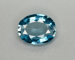 Vibrant Blue ~2.30 Ct Natural Zircon From Cambodia