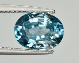 Vibrant Blue ~2.65 Ct Natural Zircon From Cambodia