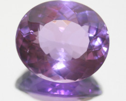 Amethyst Faceted Oval 21x18mm.-(24.15ct).-(SKU 251)