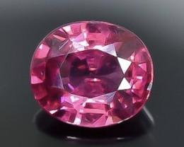 0.99 Crt  Rhodolite Garnet Faceted Gemstone (Rk-54)
