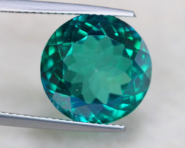 11.04ct Natural Green Topaz Round Cut Lot S150