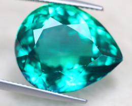 23.45Ct Natural Greenish Blue Topaz Pear Cut Lot S151