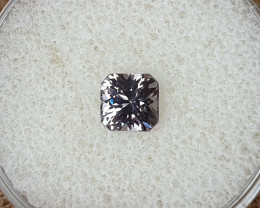 1,02 metal grey Spinel - Designer cut!