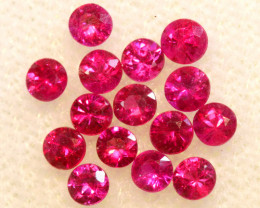 0.89 CTS NATURAL RUBY FACETED STONE PARCEL PG-3386