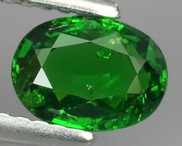 1.00 CTS DAZZLING NATURAL EARTH MINED ULTRA  GREEN TSAVORITE GARNET!$560.00