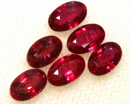 1.64 CTS NATURAL RUBY FACETED STONE PARCEL PG-3406