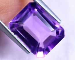 3.31cts Natural Violet Purple Colour Amethyst / MA189