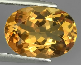 EXCELLENT~6.65 CTS CHAMPION TOPAZ OVAL WONDERFUL COLOR RARE STONE!