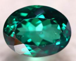 Green Topaz 16.66Ct Natural VVS Green Topaz D3015/A48