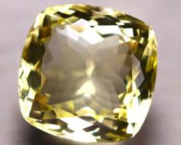 Lemon Quartz 15.86Ct Natural VVS Lemon Quartz D3017/C1