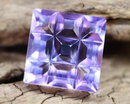 Amethyst 2.81Ct VVS Designer Cut Natural Bolivian Purple Amethyst A2713