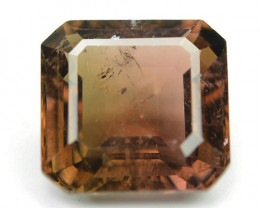 2.38 Cts Un Heated Brown Color Natural Tourmaline Loose Gemstone