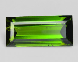2.08 Cts Un Heated Green Color Natural Tourmaline Loose Gemstone