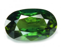 1.28 Cts Amazing Rare Natural Fancy Green Ceylon Sapphire Loose Gemstone