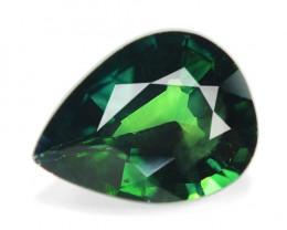 0.95 Cts Amazing Rare Natural Fancy Green Ceylon Sapphire Loose Gemstone
