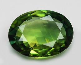 1.01 Cts Amazing Rare Natural Fancy Green Ceylon Sapphire Loose Gemstone
